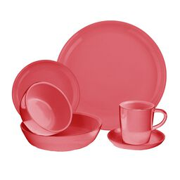 6-pc Vermilion Dinnerware Set